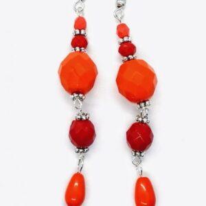 Orange Mood Earrings