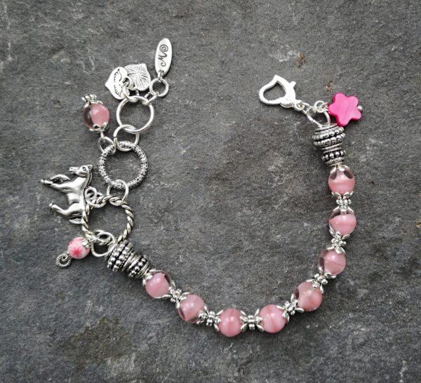Pink Horse Karkötő