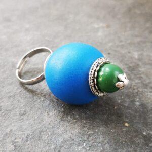 Hinoki Wood Gyűrű