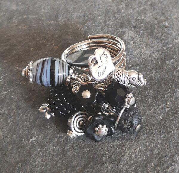 Black Elephant Gyűrű