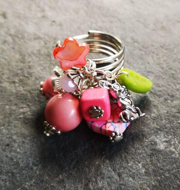 Pink Rabbit Gyűrű