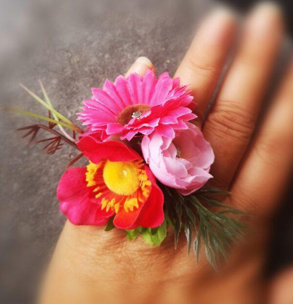 Flower Power Gyűrű