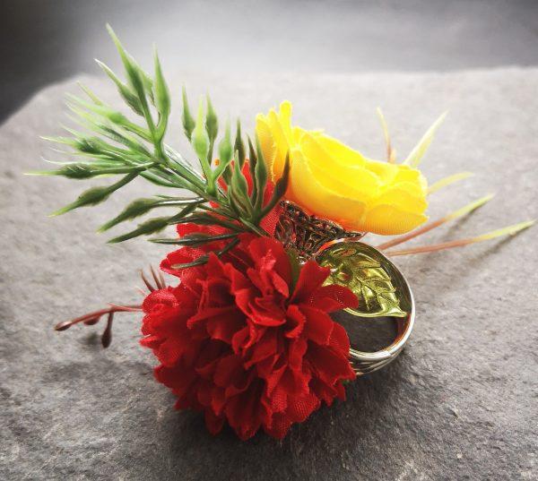 Flower Gyűrű
