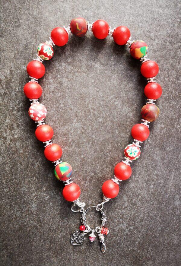Scarlet Rose Nyaklánc