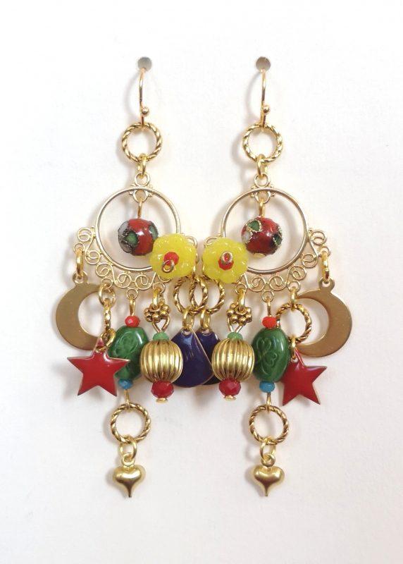 Boho Moon Earrings